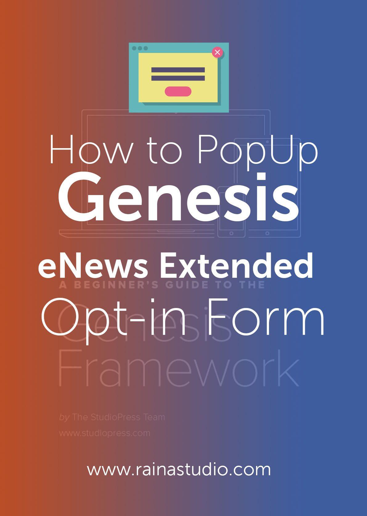 Popup-Genesis-eNews-Extended-Opt-in-Form