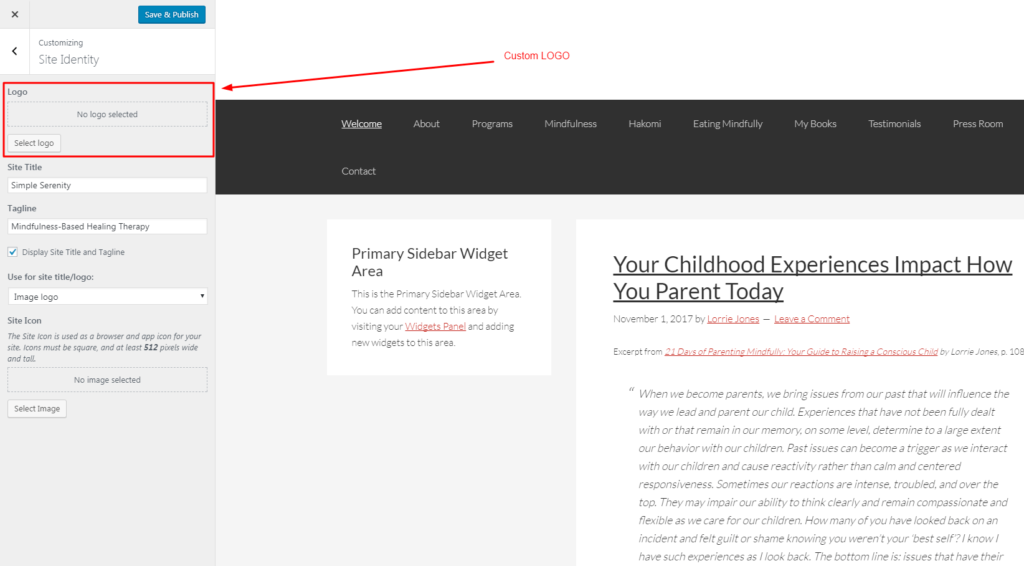 4 Baby Steps To Add Custom Logo To Genesis Child Theme