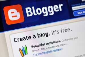 Start Blog on Blogger