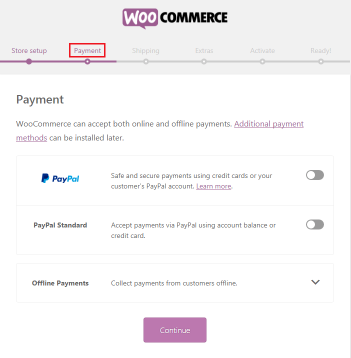 How to Build an eCommerce Website Using WoocCommerce - Payment Gateway