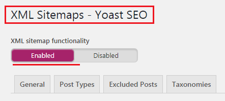 How to Create Sitemaps for WordPress Website - Yoast Sitemaps Setting