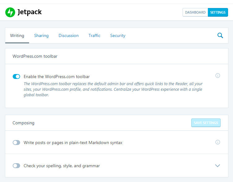 How to Jetpack Your WordPress Website - Jetpack Settings