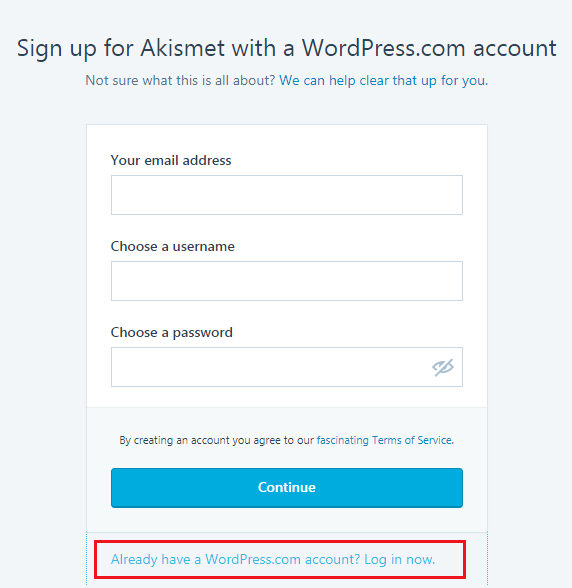 How to STOP Spam Submission on Your Blog - Create Akismet Account