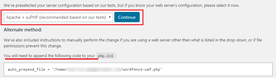 How to Secure Your WordPress Website - Setting Up Wordfence Extended Frrewall Protection