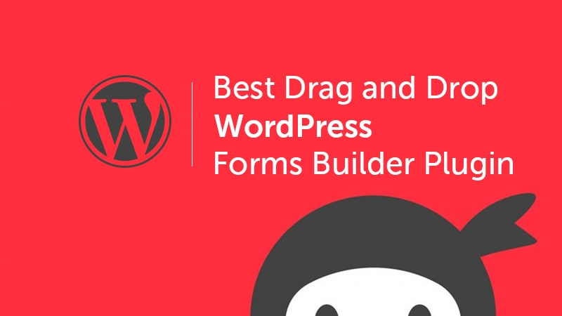 Best Drag and Drop WordPress Form Builder Plugin