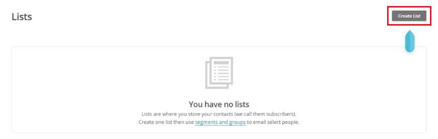 How to Add MailChimp Subscribe Form to WordPress - Creating MailChimp Email List