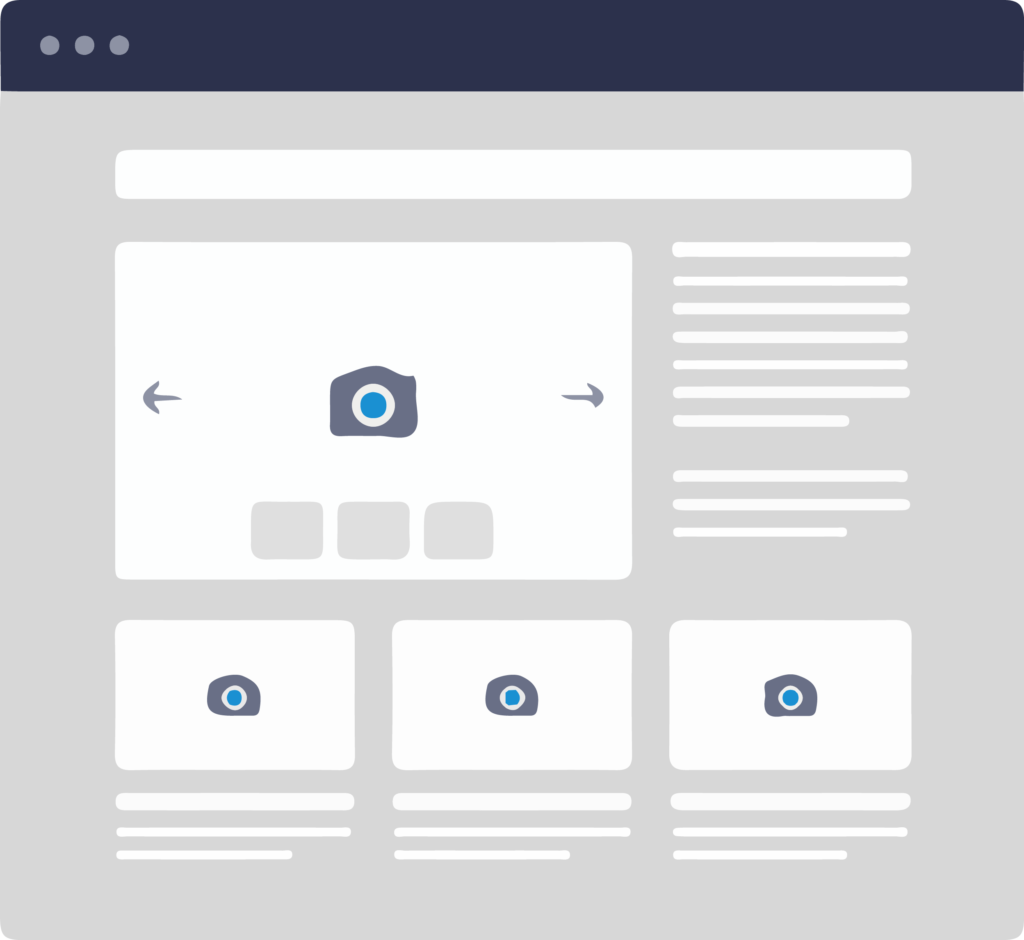 efficient and attractable website design