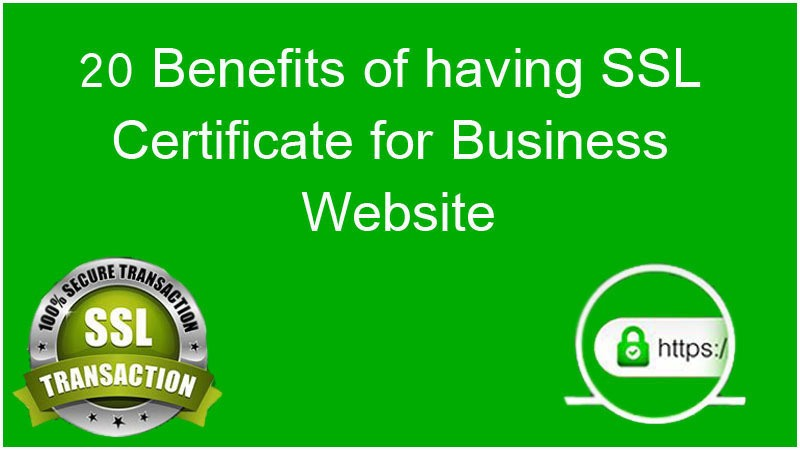 SSL Certificate for Business Website