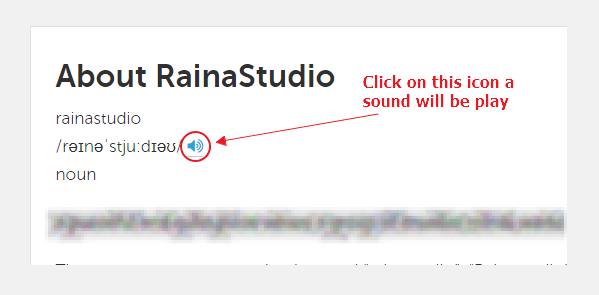 Image 1 - Add an Audio Sound to Blog About Page