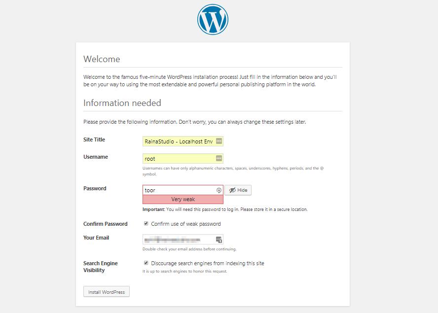 Image 5 - Install WordPress On Localhost