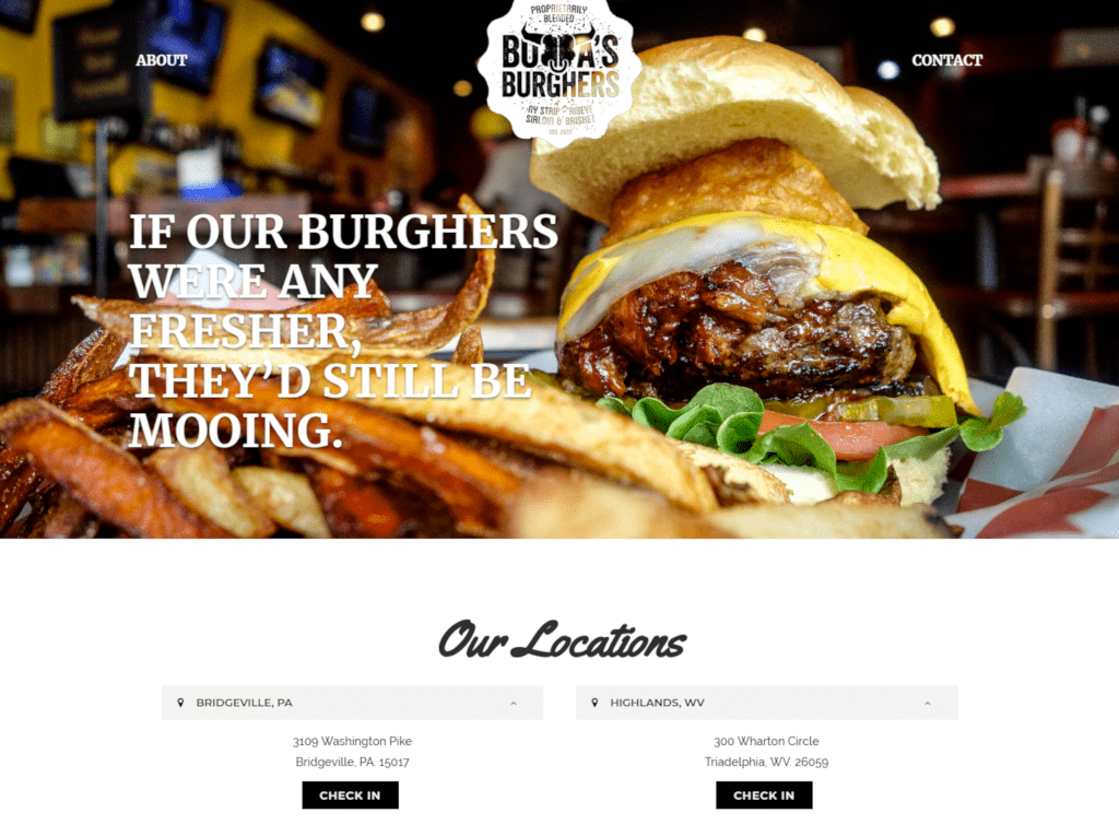 Bubbas Gourmet Burghers