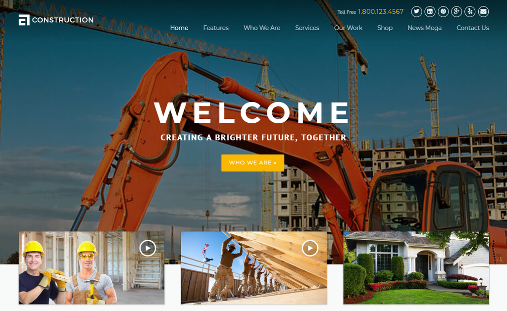 Construction – WP Construction, Building Business