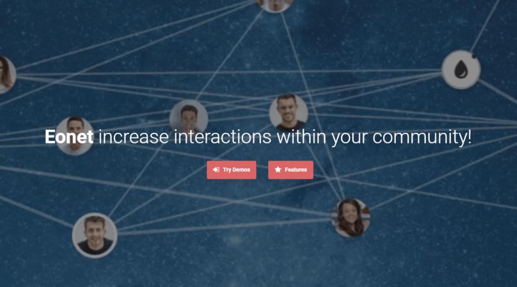 Eonet – Responsive Communities & Networks WordPress Theme
