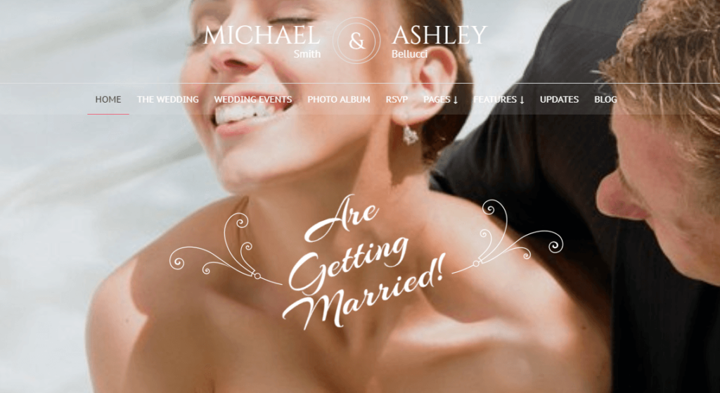 Honeymoon – Wedding & Wedding planner WordPress