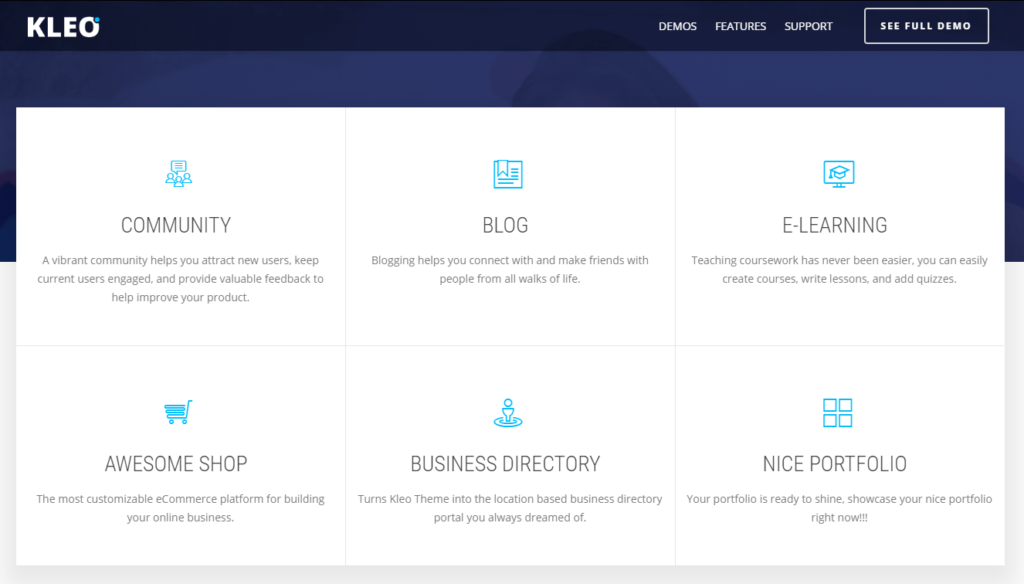 KLEO – Pro Community Focused, Multi-Purpose BuddyPress Theme