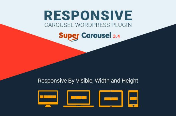 Super Carousel — Responsive WordPress Plugin