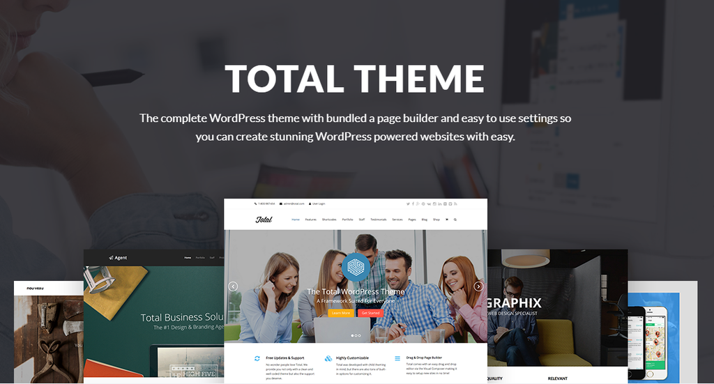 Total – Responsive MultiPurpose WordPress Theme