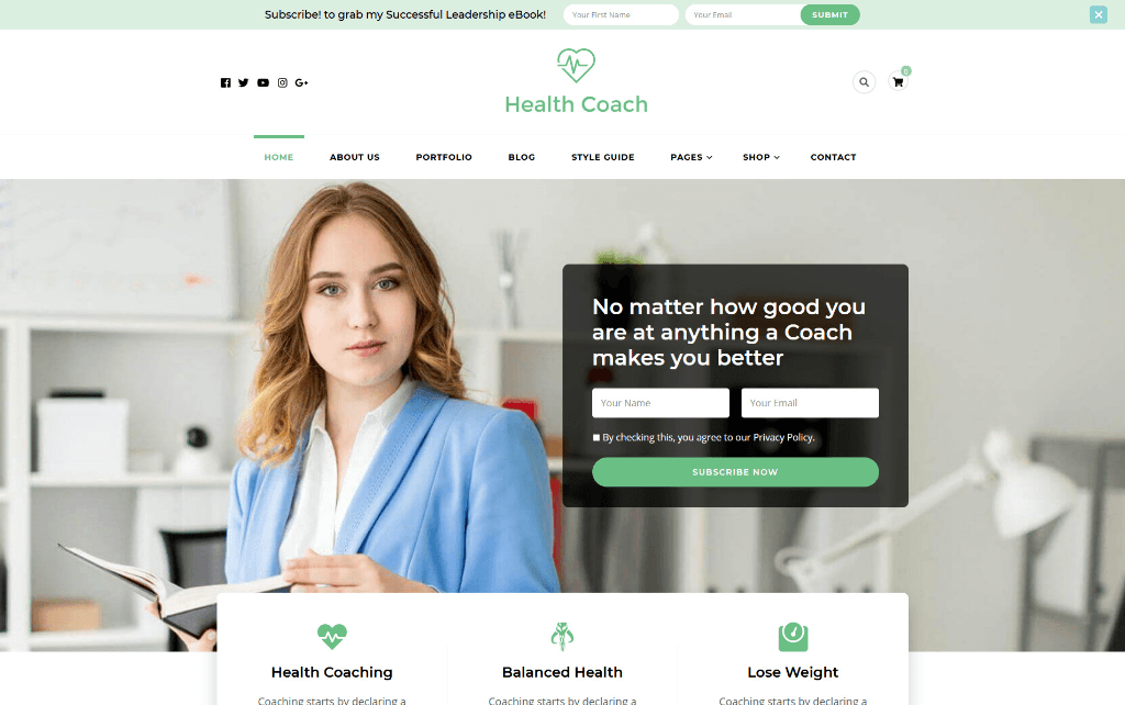 Blossom Health Coach