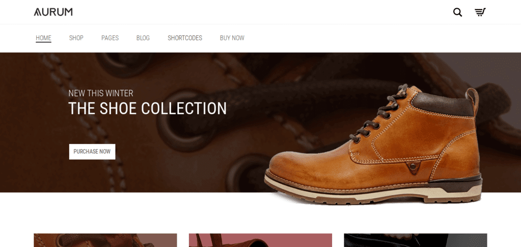 Aurum - Minimal WooCommerce Theme