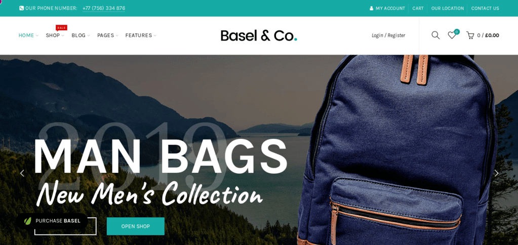Basel – Responsive WordPress theme