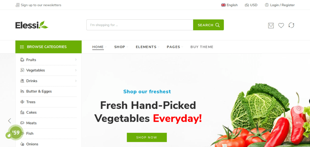 Elessi - WooCommerce WordPress Theme