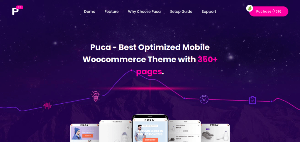Puca – Best Optimized Mobile Woocommerce Theme