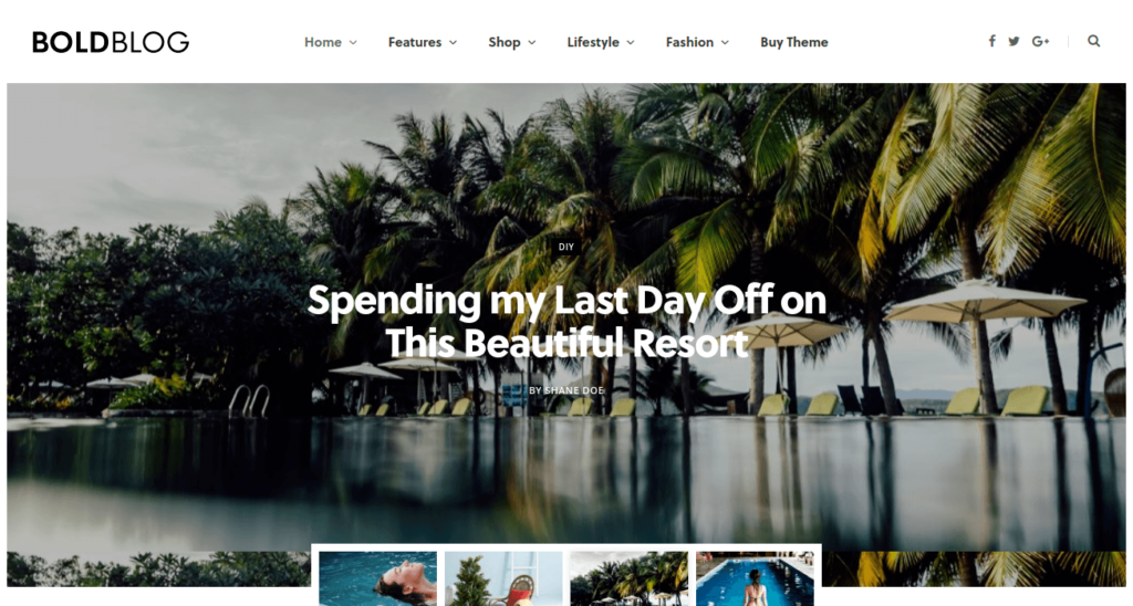 CheerUp - Blog & Travel WordPress