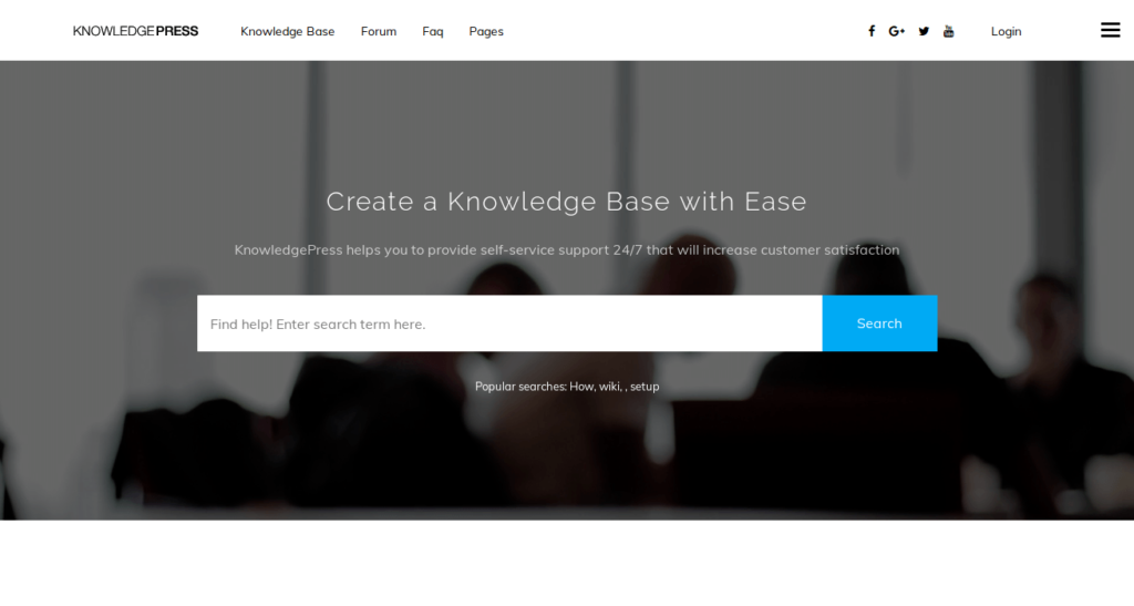 Knowledge Base - Bootstrap WP Theme for Helpdesk, Wiki, FAQ