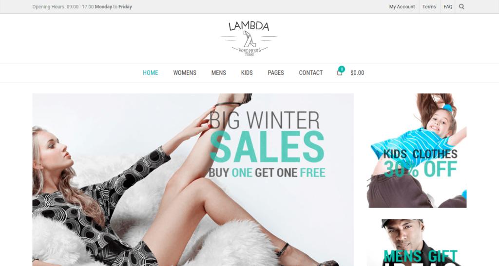 Lambda - Responsive Bootstrap Theme
