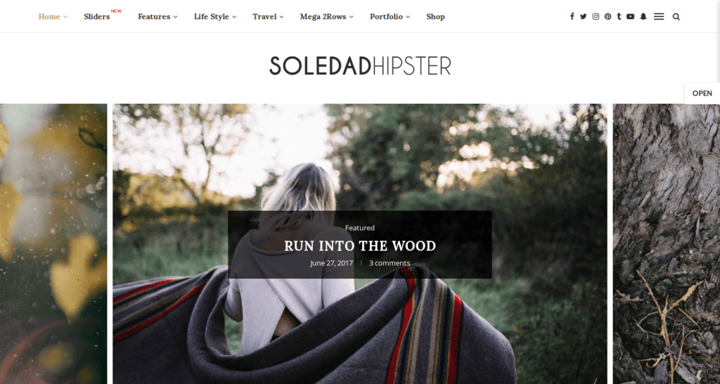Soledad – Blog WordPress Theme
