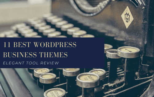 11 Best WordPress Business Themes for 2020