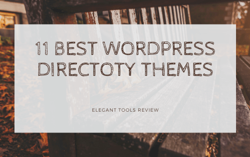 11 Best WordPress Directory Themes for 2020