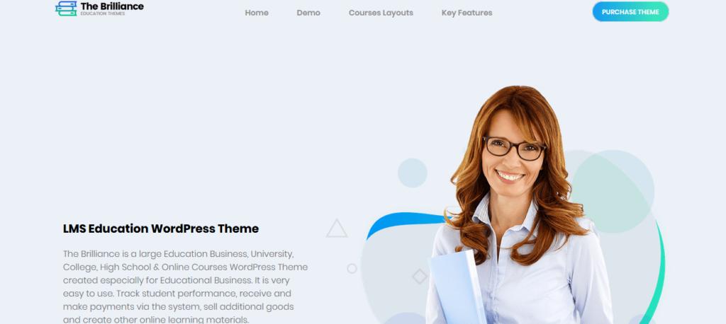 The Brilliance - LMS Education WordPress Theme