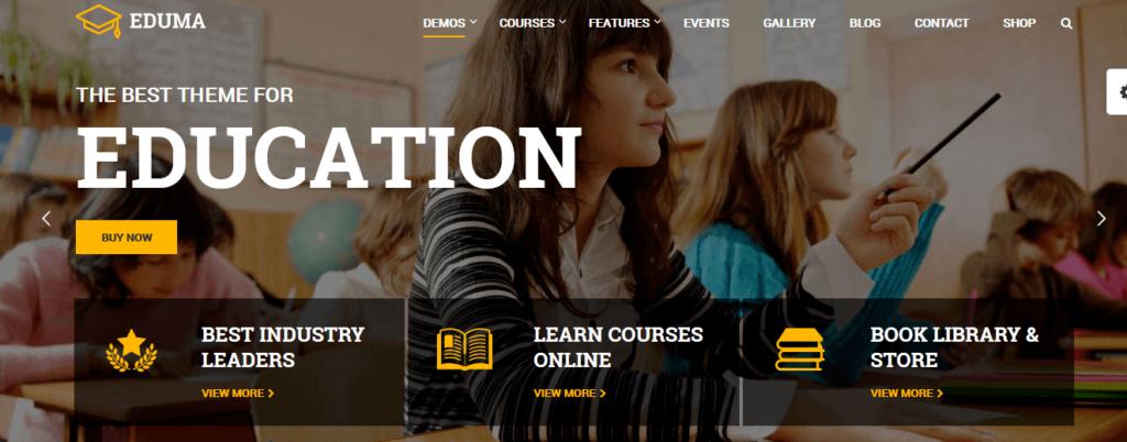 Education WordPress Theme - Eduma