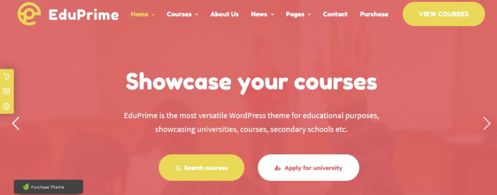 EduPrime - Education & LMS WordPress Theme