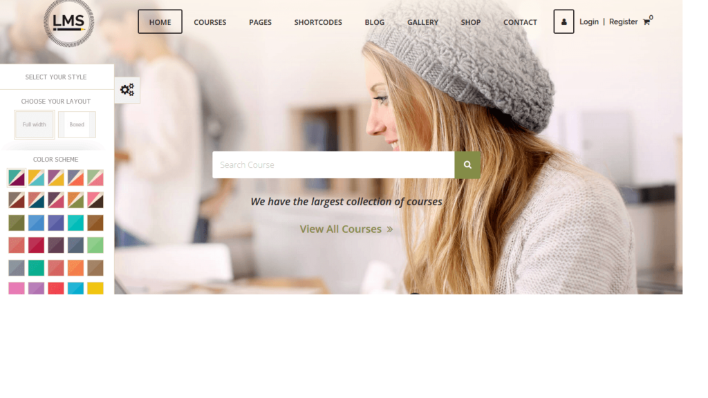 LMS - WordPress Theme, Learning Management System