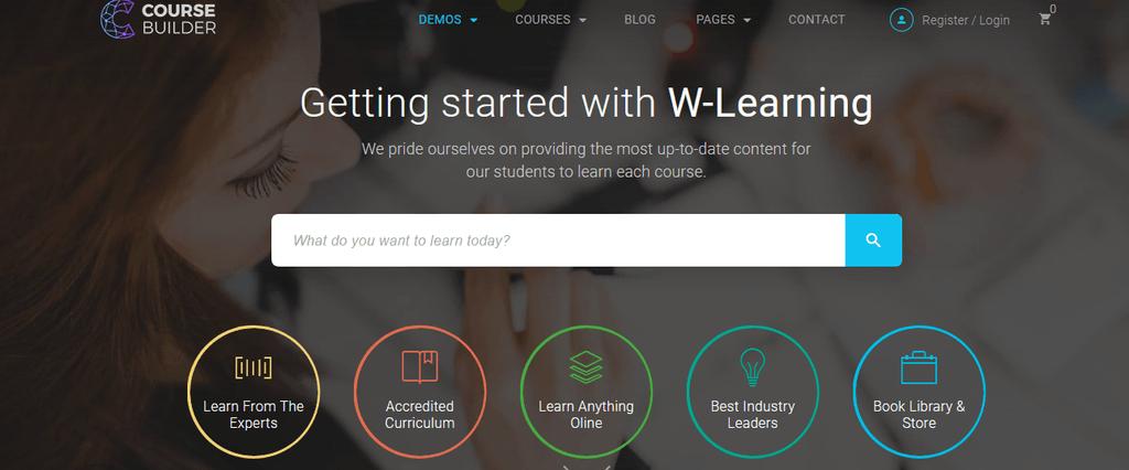 Course & LMS WordPress Theme