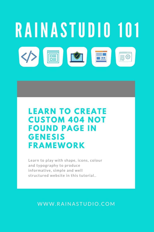 Custom 404 Not Found Page in Genesis Framework