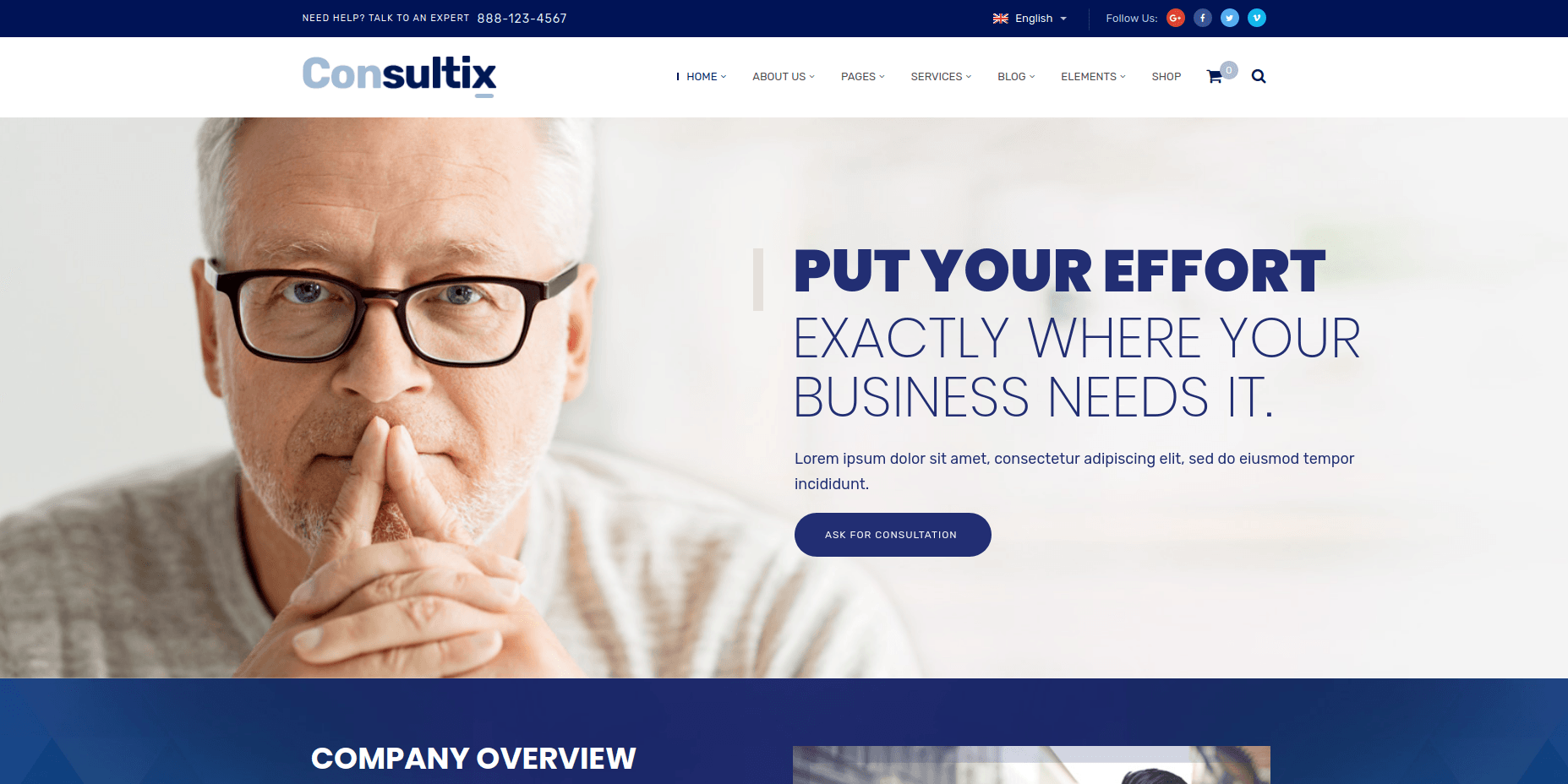 Consultix - WordPress Business Themes
