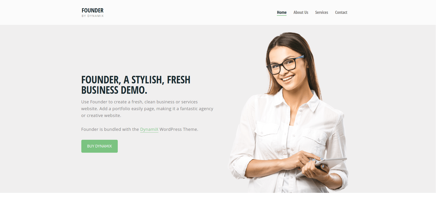DynamiX - WordPress Business Themes