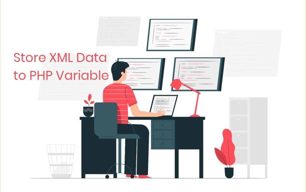 Store XML Data to PHP Variable