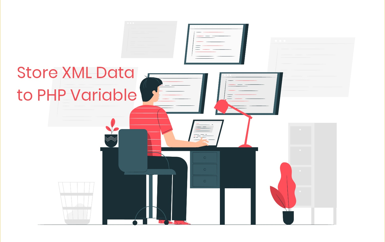 How to Store XML Data to PHP Variable