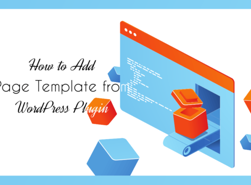 How to Add Page Template from WordPress Plugin