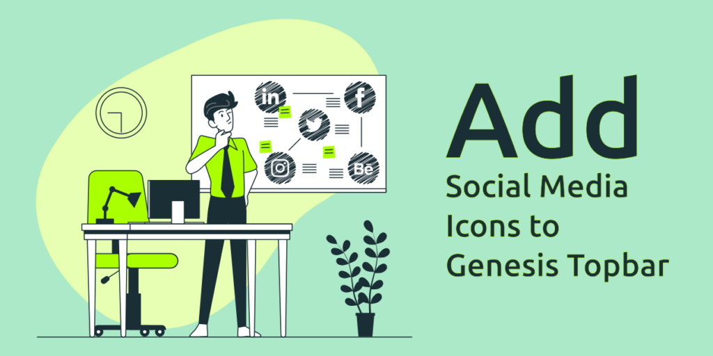 Add Social Media Icons to Genesis Topbar