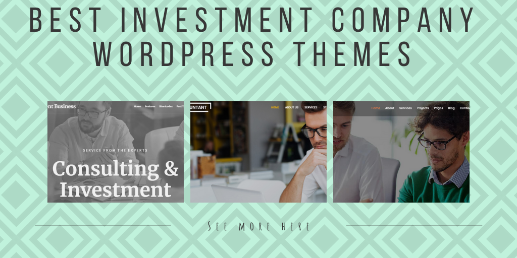 10 Best Investment Company WordPress Themes