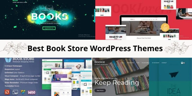 11 Best Book Store WordPress Themes
