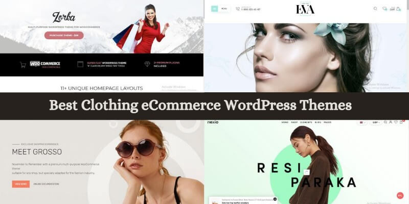 Best Clothing eCommerce WordPress Themes