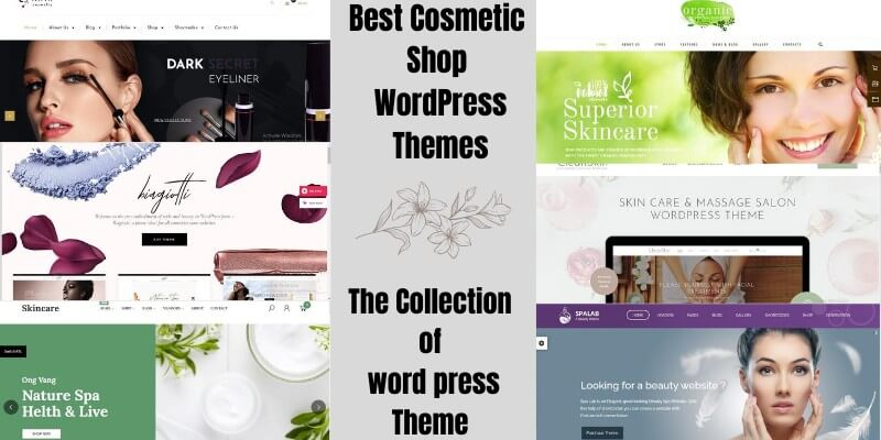 10 Best Cosmetic Shop WordPress Themes