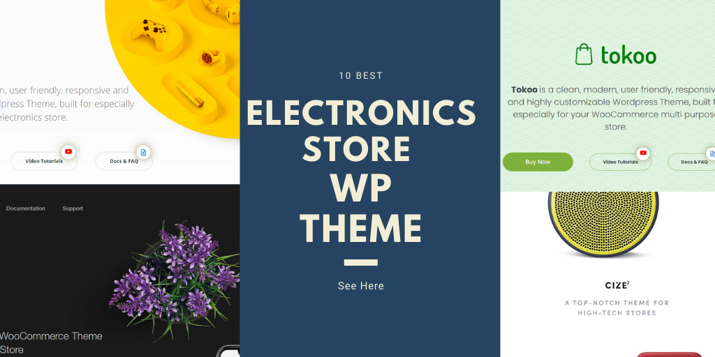 Best Electronics store WordPress Themes