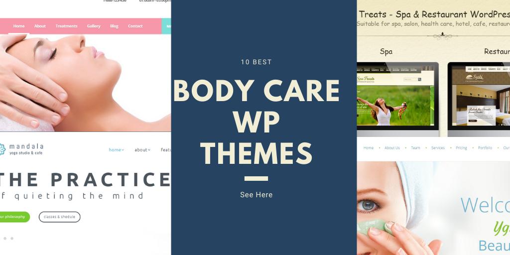 10 Best Body Care WordPress Themes